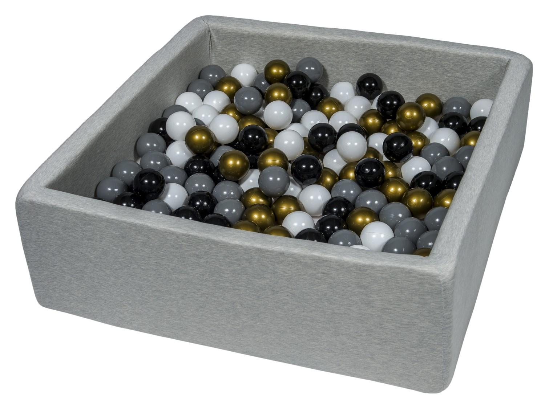 Piscine à balles pour enfant, enfant, enfant, diHommes sions: 90x90 cm, Aire de jeu + 300 balles dd0f65